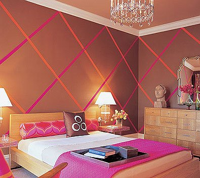 Pink Orange Color Combination For Teen Girls Bedroom Ideas ...