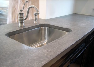 Simple Concrete with Stainless Steel Sink