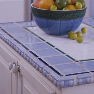 Baby Blue Ceramic Tile